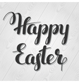 happy easter lettering concept can be used vector image vector image