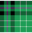 hibernian fc tartan fabric textile check pattern vector image vector image