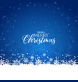 merry christmas postcard holiday background vector image