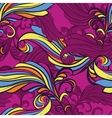 seamless pattern in purple vector image