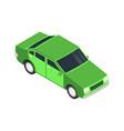 sedan automobile icon vector image vector image