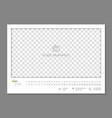 simple wall calendar june 2018 year flat vector image