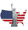 symbol america vector image vector image