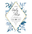 wedding invite save the date card design vector image vector image