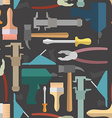 Construction tools seamless Pattern background vector image vector image