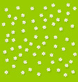 field background with flowers vector image vector image