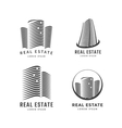 Real estate icons vector image vector image