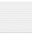 seamless triangle geometric pattern background vector image vector image