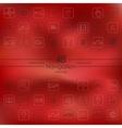 Set of navigation icons vector image