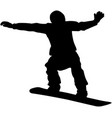 snowboard competition vector image vector image