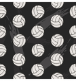 Volleyball seamless pattern for boy Sports balls vector image
