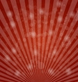 Abstract bokeh on red background vector image vector image