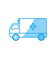 ambulance emergency vehicle vector image vector image