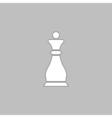 Chess queen computer symbol vector image vector image