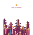 colorful birthday candles Christmas tree vector image vector image