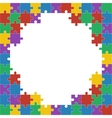Colorful shiny puzzle