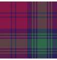 Lindsay tartan fabric textile check pattern vector image vector image
