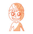 male miner avatar character vector image vector image