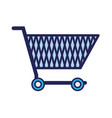 online shopping car electronic store vector image