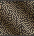 seamless geometric luxury pattern vector image vector image