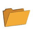 system folder database vector image vector image