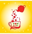 Tea fruit vector image vector image