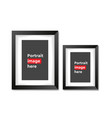 a3 a4 vertical blank picture frame vector image vector image