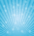 Abstract bokeh on light blue background vector image vector image