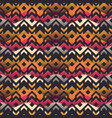 ancient geometric seamless pattern vector image vector image