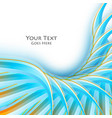 colorful cover design vector image vector image