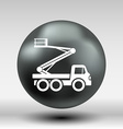 Construction Machines icon button logo symbol vector image vector image