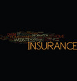 find a great home insurance website text vector image vector image