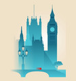 london westminster vector image