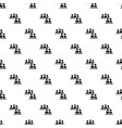 people conference pattern seamless vector image vector image