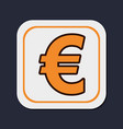 euro money curreny vector image