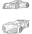 car7 vector image vector image