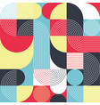 creative circle seamless pattern vector image vector image