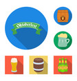 design of minimal and pint icon set of vector image