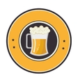 fresh beer drink icon vector image vector image