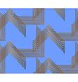 Geo pattern19 vector image vector image