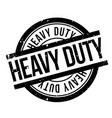 heavy duty rubber stamp vector image vector image