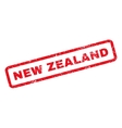 New Zealand Rubber Stamp vector image