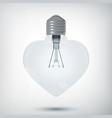 romantic design concept vector image