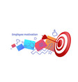 successful business strategy achieving career vector image vector image
