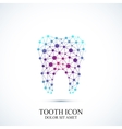 Tooth icon template Medical design vector image vector image