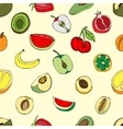 Pattern Fruits vector image