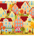 Autumn town vector | Price: 3 Credits (USD $3)