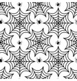 cobweb seamless pattern spider repetitive texture vector image vector image