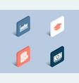 graduation cap trade infochart and parcel vector image vector image