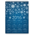 New Year Calendar vector image vector image